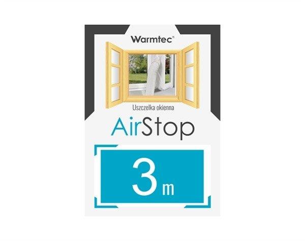 Uszczelka okienna Warmtec AirStop 3 m