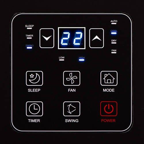 Klimatyzator AD 7916 - panel sterowania