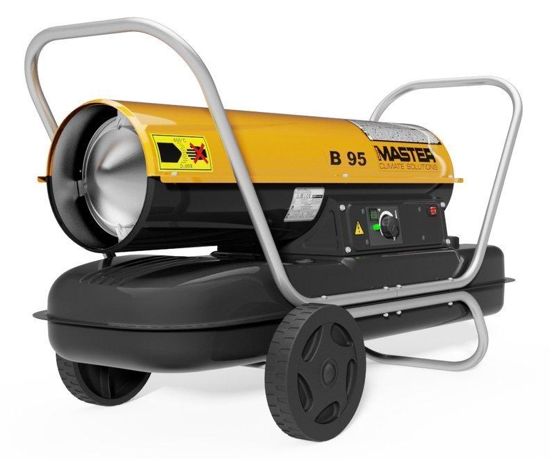 Master B 95 CEL - zalety