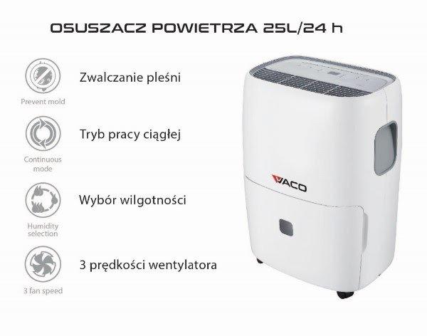 Osuszacz powietrza vaco 2504
