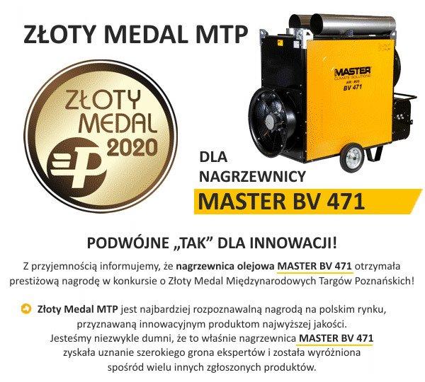 Medal budma dla Master AIR-BUS BV 471 S