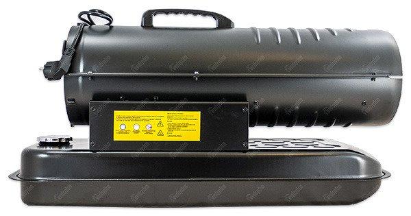 nagrzewnica olejowa Dedra DED9950A - widok z boku