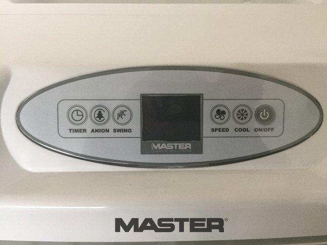 klimator przenośny master ccx 4.0 zalety