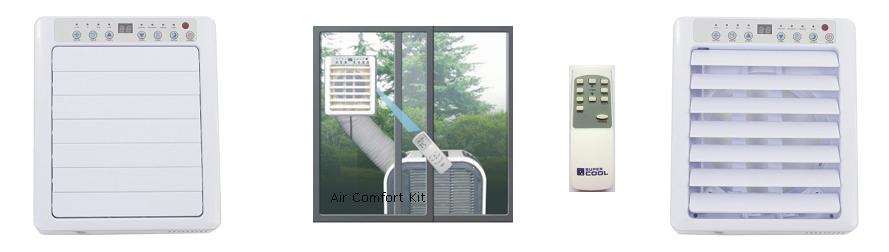 Klimatyzator Fral 14.1 - wyposażenie dodatkowe