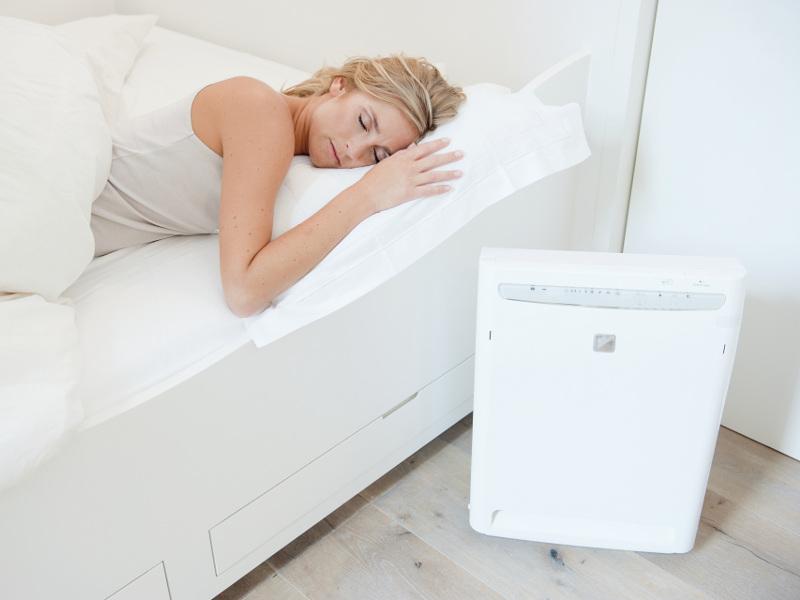Oczyszczacz Daikin MC 70L - sypialnia