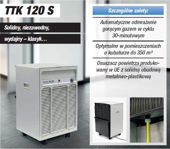 Oczyszczacz TROTEC TTK 120 S