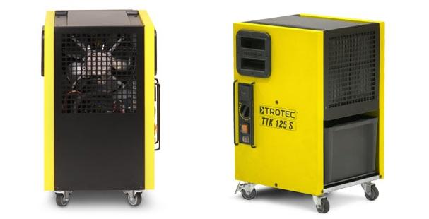 Budowlany osuszacz powietrza TROTEC TTK 125 S