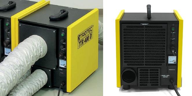 Adsorpcyjny osuszacz powietrza TROTEC TTR 400 D
