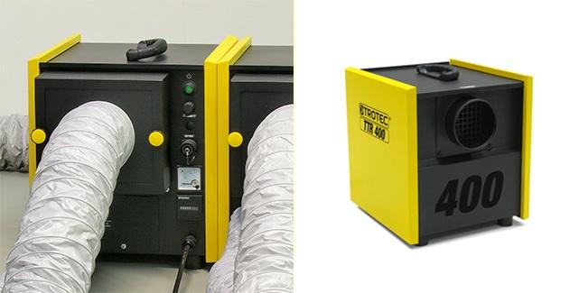 Adsorpcyjny osuszacz powietrza TROTEC TTR 400