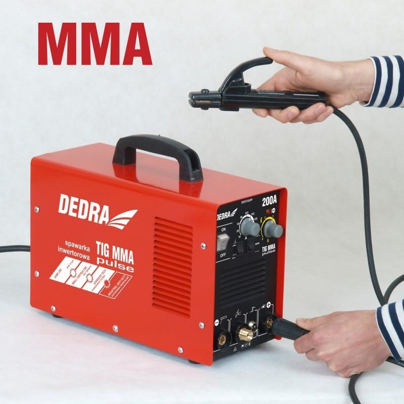 Spawarka inwertorowa MMA Dedra DESTi203P