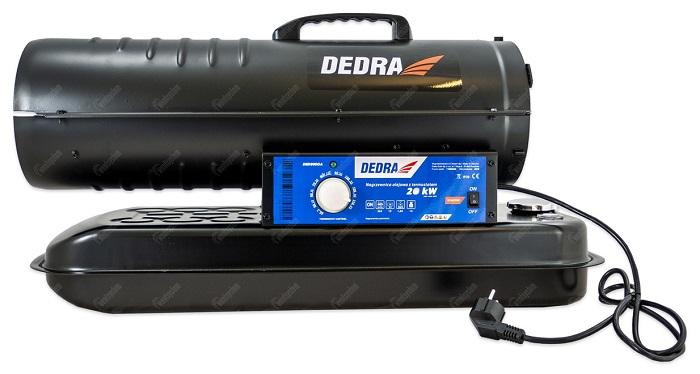 nagrzewnica powietrza Dedra DED9950A - widok z boku