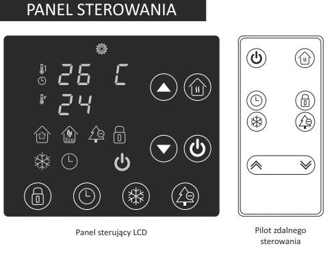 panel sterowania warmtec egl-1000