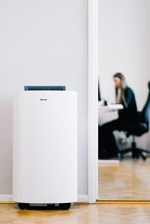 Klimatyzator woods cortina - zastosowanie w biurze