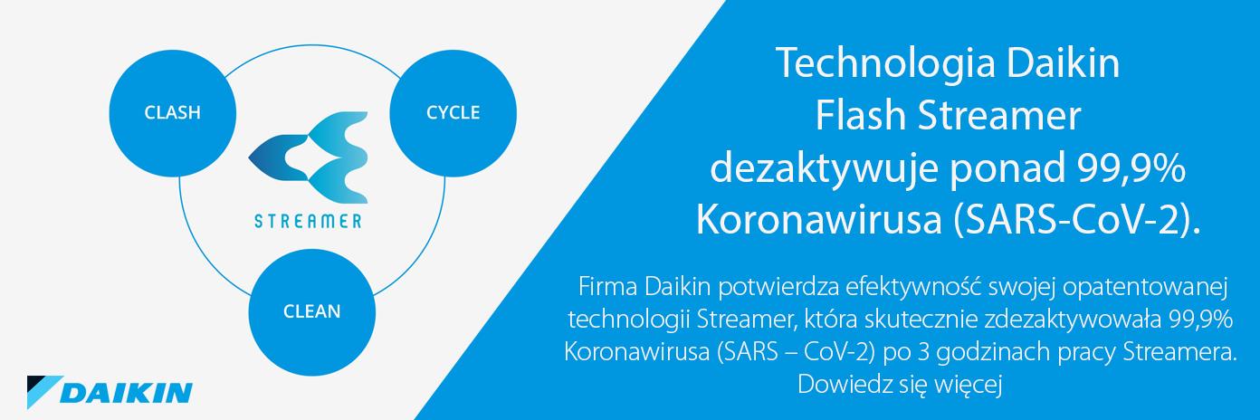 Daikin MC55W flash streamer