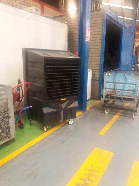 zastosowanie przemysłowe klimatora master bc 180